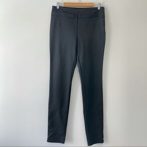 Aritzia Wilfred Slim Black Dress Pants Side Zip 10